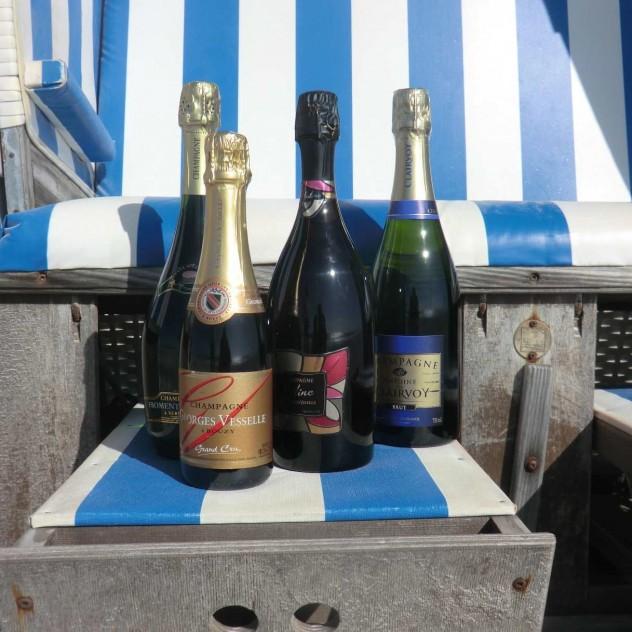 privates Champagnertasting auf Sylt